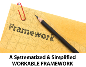 A Systematized & Simplified WORKABLE FRAMEWORK