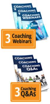 Bonus Coaching Webinars and Q&As
